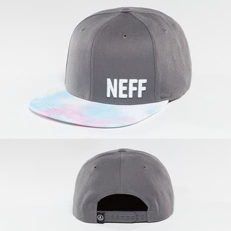 NEFF Snapback Lippis Harmaa