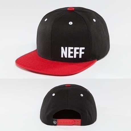 NEFF Snapback Lippis Musta
