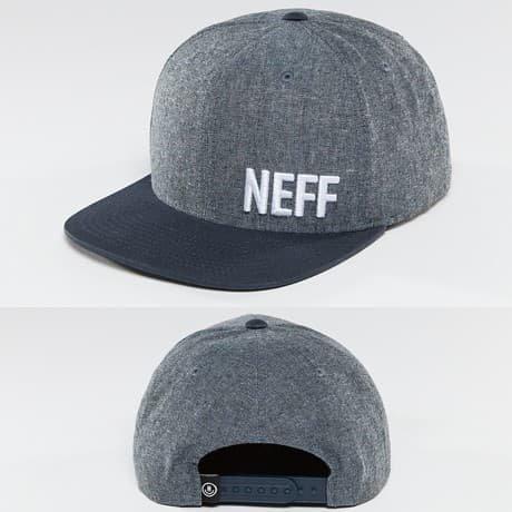 NEFF Snapback Lippis Sininen