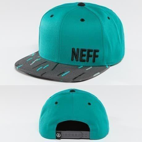 NEFF Snapback Lippis Turkoosi