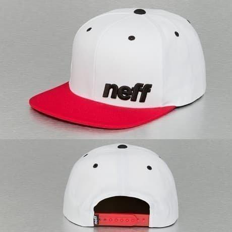 NEFF Snapback Lippis Valkoinen