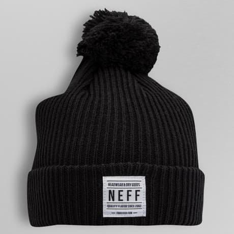 NEFF Talvipäähine Musta
