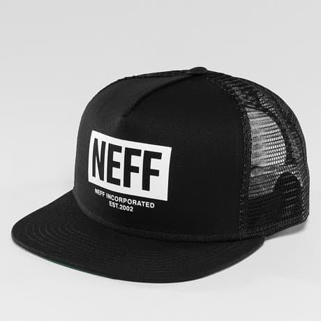 NEFF Verkkolippis Musta