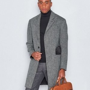 NILS Nils Harris Coat Grey