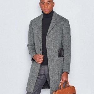 NILS Nils Harris Coat Grey