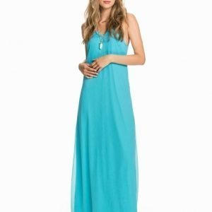 NLY Blush Draped Balcony Dress Blå