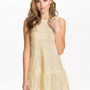 NLY Blush Frill Lace Dress Vit