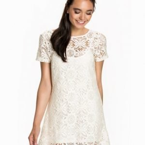 NLY Blush Laced T-Shirt Dress