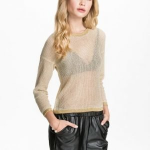 NLY Blush Metallic thread sweater