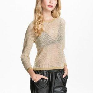 NLY Blush Metallic thread sweater