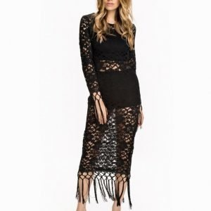 NLY Design Fringe Lace Dress