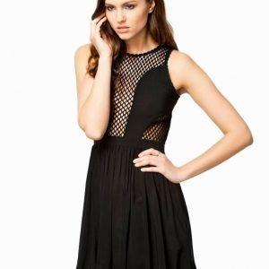 NLY Design Skater Mesh Dress