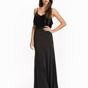 NLY Eve Burn Out Flounce Dress