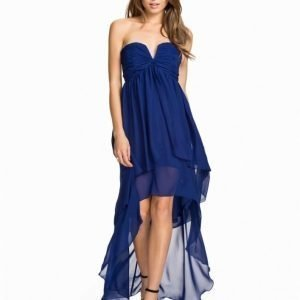 NLY Eve High Low Layer Dress Blå