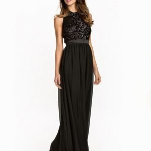 NLY Eve Sequin Pocket Gown Svart