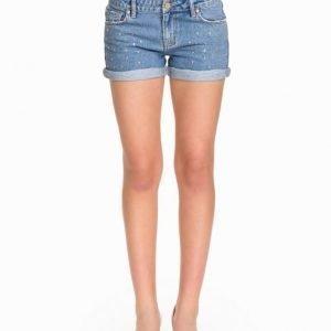 NLY ICONS Stone Denim Shorts