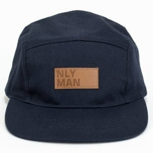 NLY MAN 5 Panel Cap Lippis Navy