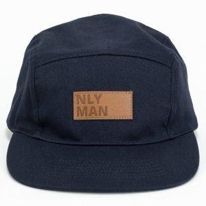 NLY MAN 5 Panel Cap Lippis Navy