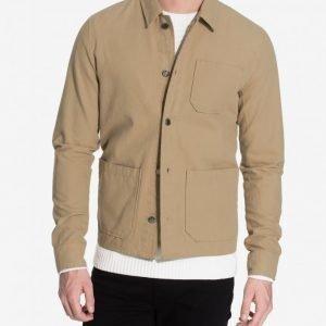 NLY MAN Canvas Jacket Takki Beige