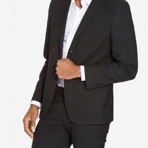 NLY MAN Slim Fit Suit Jacket Bleiseri Black