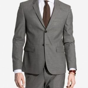 NLY MAN Slim Fit Suit Jacket Bleiseri Harmaa
