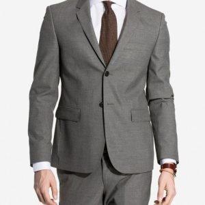 NLY MAN Slim Fit Suit Jacket Bleiseri Harmaa