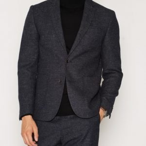 NLY MAN Slim Fit Tweed Blazer Bleiseri Navy