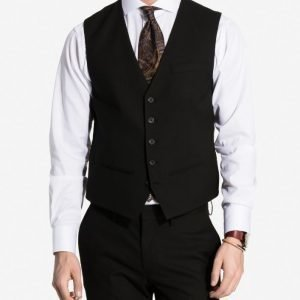 NLY MAN Slim Fit Waist Coat Liivi Black