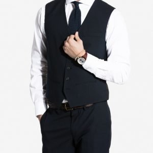 NLY MAN Slim Fit Waist Coat Liivi Navy