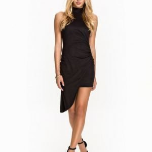 NLY One Assymetric Suede Dress