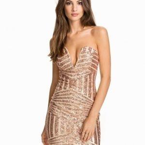 NLY One Bombshell Short Dress Svart