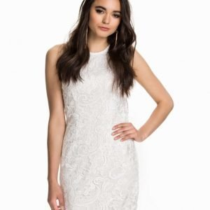 NLY One Cut Out Lace Dress Vit