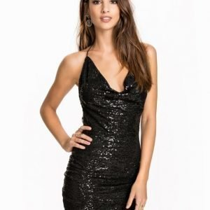 NLY One Drape Sequin Dress