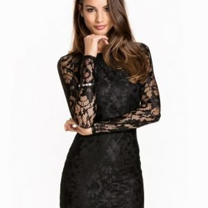 NLY One LS Lace Cut Out Dress