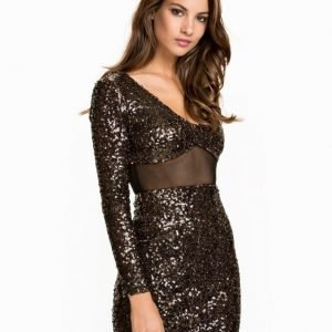 NLY One Sparkle Mesh Dress