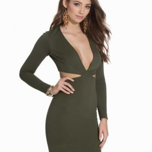 NLY One V Neck Cut Out Dress