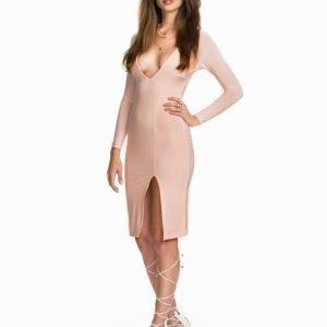 NLY One V Neck Midi Dress