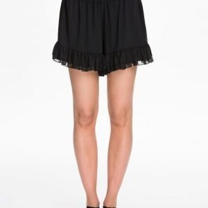 NLY Trend Chiffon Frill Shorts Blommig