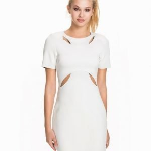 NLY Trend Contrast Scuba Dress