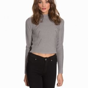 NLY Trend Cropped Cable Knit