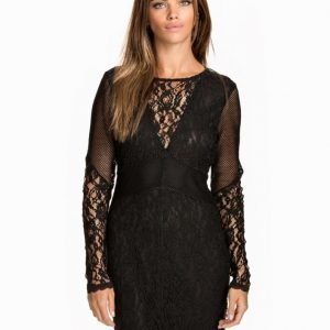 NLY Trend Don't Mesh With Me Dress Svart