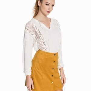 NLY Trend Fancy Blouse Blå