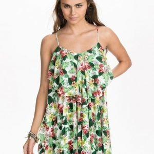 NLY Trend Frill Dress Tropical