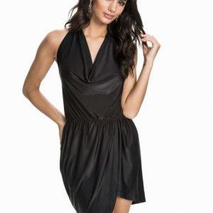 NLY Trend Halterneck Drape Dress