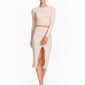 NLY Trend High Slit Skirt