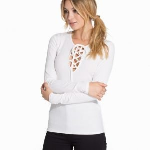 NLY Trend Lacing Top Camel
