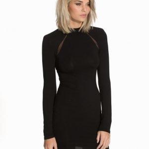 NLY Trend Mesh Insert Dress