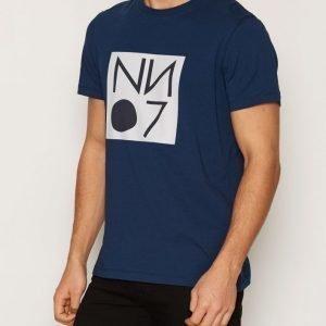 NN.07 Barry Tee 3292 T-paita Navy