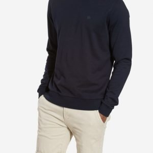 NN.07 Base Sweat Pusero Navy Blue