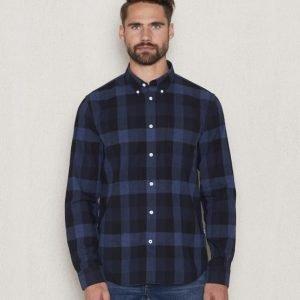 NN07 Falk Shirt 725 Blue Check